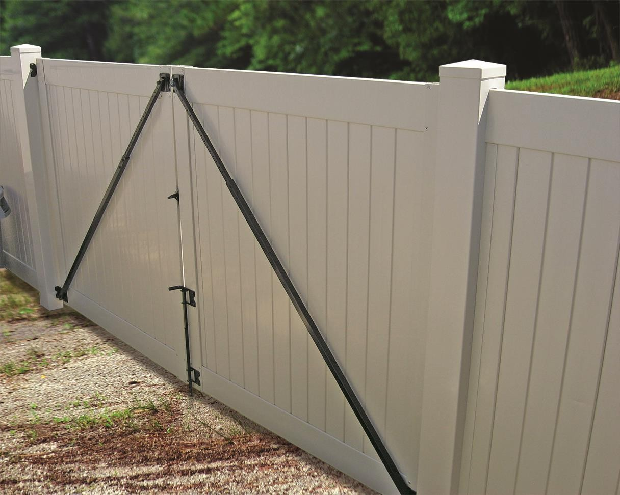 Gate Anti Sag Kit Black Single Gate (Need to order 2 for Double Gates)