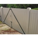 Gate Anti -Sag Kit White
