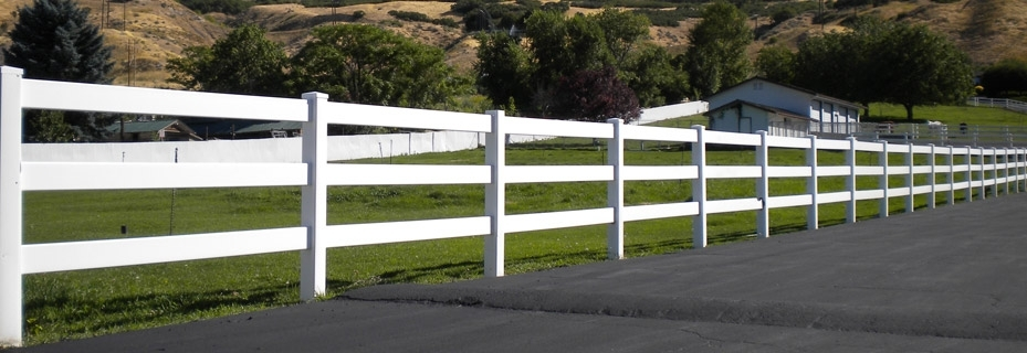 Vinyl Ranch Rail Fencing Fencing